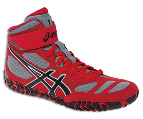 UPC 887749445602, Asics Men's Aggressor 2 Wrestling Shoe,Fire Red/Black/Graphite,11 M US