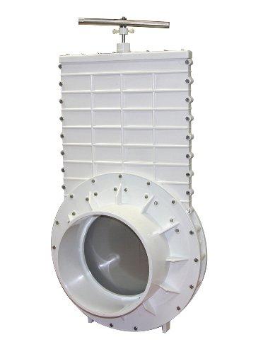 Valterra 6910 PVC Gate Valve, White, 10