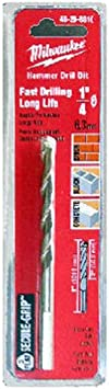 Milwaukee 48-20-8816 Hammer Drill Bit 5/16-by-4-by-6-Inch