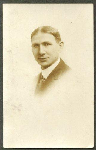 Norman Gross RPPC postcard by Marlborough Photo Shop NYC 1910s