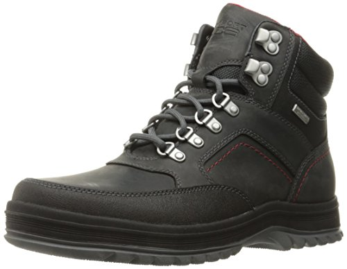 Rockport Men's World Explorer Mid Waterproof Snow Boot- Castlerock Grey-9  - Rockport Men Boots Winter For