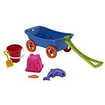 American Plastic Toys Beachcomber Wagon Set