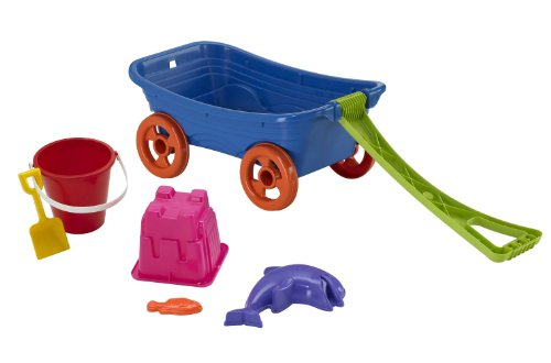 American Plastic Toys Beachcomber Wagon Set (Plastic Wagons Toy)