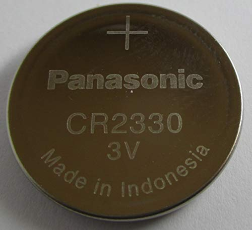 3 x Panasonic Batteries - Cr2330 (Pre-Packing) - Lithium Battery, 3V, Coin Cell ()
