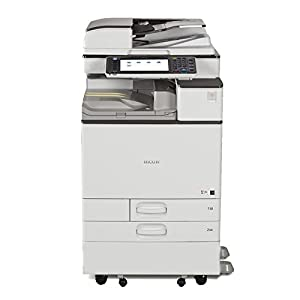 Renewed Ricoh Aficio MP C5503 Color Multifunction Copier – A3, 55 ppm, Copy, Print, Scan, SPDF, 2 Trays with Stand (Renewed)