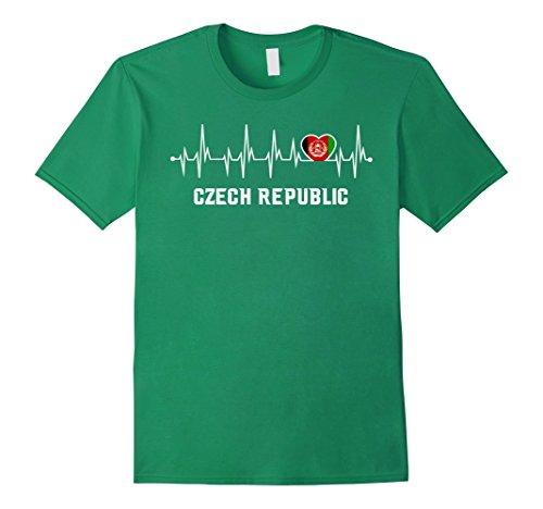Czech Republic Flag Heart - 9