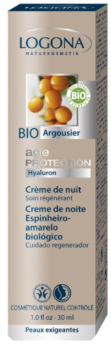 Logona Age Protection Night Cream, 1.05 Fluid Ounce
