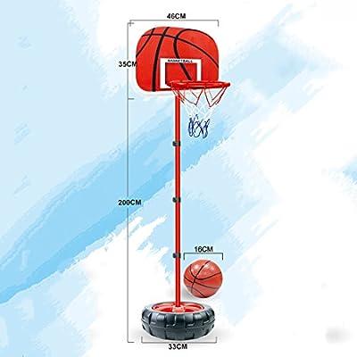 LDB SHOP 83-200 Cm Ajustable aro de Baloncesto niño Tablero ...