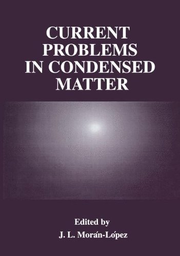 Current Problems in Condensed Matter (Plenum Series in Social/Clinical)