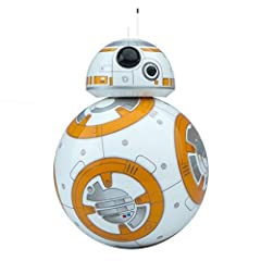 Meet BB-8 - the app-enabled Droid whose movements and personality are as authentic as they are advanced. Based on your interactions, BB-8 will show a range of expressions and perk up when you give voice commands. Watch your Droid explore auto...