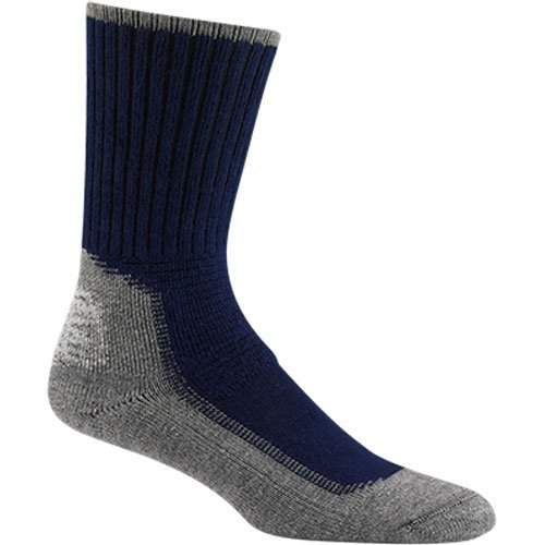 Wigwam Hiking/Outdoor Pro Sock, Large, Navy(Women's 10-13 shoe size and men 9-12)