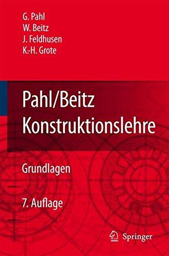 Pahl/Beitz Konstruktionslehre: Grundlagen erfolgreicher Produktentwicklung. Methoden und Anwendung Gebundenes Buch – 19. Oktober 2006 Gerhard Pahl Wolfgang Beitz Jörg Feldhusen Karl-Heinrich Grote