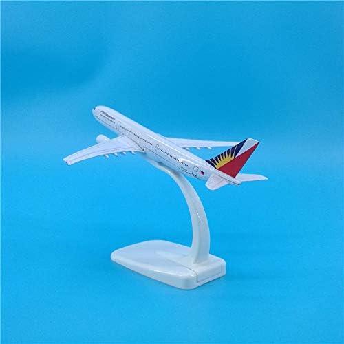 16 cmフィリピン航空A330合金航空機モデルダイカスト1:カスタマイズ可能な400
