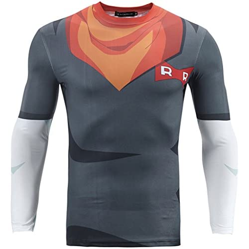 PIZOFF Mens Compression Under Base Layer Top Tight Long Sleeve T Shirts
