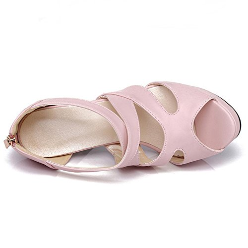 Sangle VulusValas Croisee Sandali Femmes Pink Chaussures Zqawf