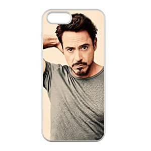 Robert Downey Jr For Iphone 6 Phone Case Cover 100% PC (Laser Technology)