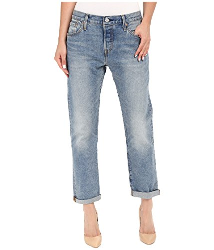 Levi's Women's 501 Customized and Tapered Jean, Island Azure, 29 (US 8) S