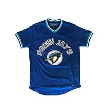 Evolution Design Fresh Jays - Men's Short Sleeve Baseball Jersey/Shirt
