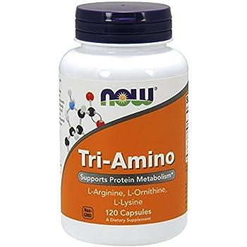 NOW Tri-Amino,120 Capsules