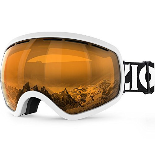 ZIONOR X10 Ski Snowboard Snow Goggles OTG for Men Women Youth Anti-fog UV Protection Helmet - Goggles Amazon Mens