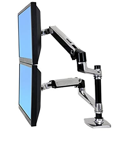 Amazoncom Halter Dual LCD Adjustable Monitor Stand Dual
