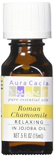 Aura Cacia Essential Oil, Roman Chamomile, 0.5 Fluid Ounce