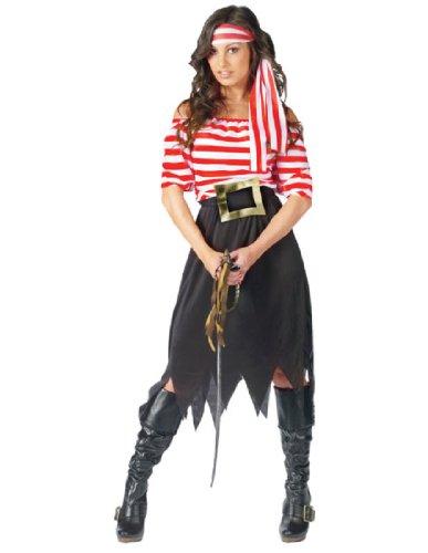 Women's Pirate Maiden Costume