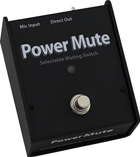 Pro Co Sound CDPM Power Mute Box (Mic Muting Switch)