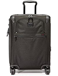 Alpha 2 Continental Expandable 4 Wheel Carry-On, Black, One Size