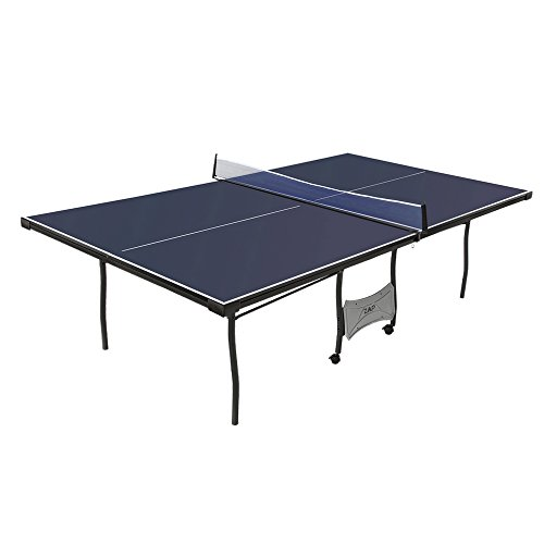 ZAAP Official Full Tournament Size Table Tennis Table with Net Set