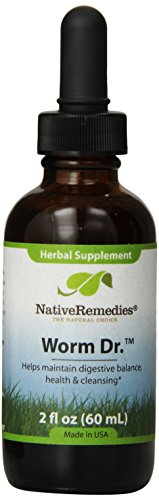 Native Remedies Worm Dr-S,Herbal supplement for digestive health and intestinal balance(2 oz)