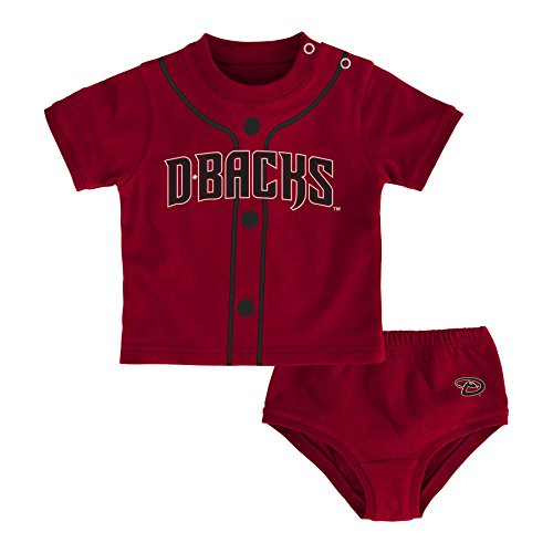 Outerstuff MLB Arizona Diamondbacks Boys Infant Little Player Tee, 18 Months, Bright -
