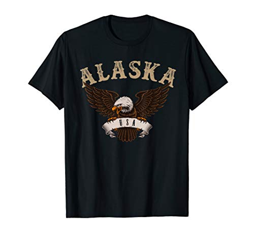 (Alaska USA Bald Eagle T-Shirt )