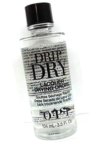 (Drip Dry Lacquer Drying Drops Size Easy to use drops also treat cuticles to the soothing dose of Jojoba and vitamin E : Big Size 3.5oz)