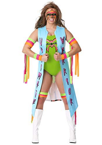 Women's Ultimate Warrior Costume Large -