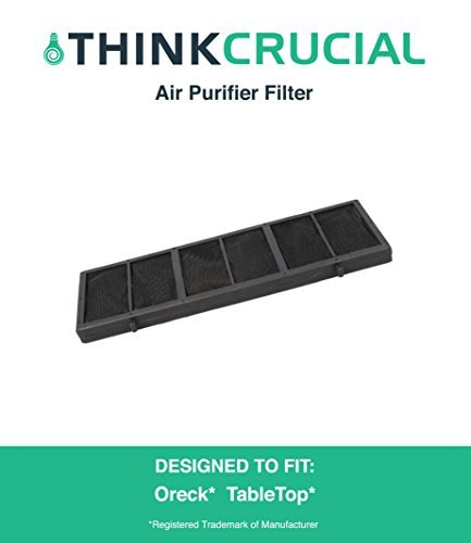 180b53e9153b3 Oreck Air Purifier Filter Fits Tabletop Professional Pro Air Purifier,  Compare to Part # AP1PKP, Designed & Engineered by Crucial Air
