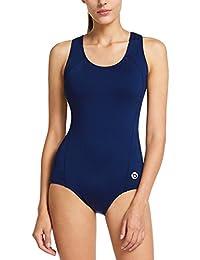 Baleaf Women's Athletic Racerback One Piece Training Swimsuit Swimwear Suit