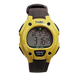 Timex Unisex T5K6849J Ironman Traditional Digital Quartz Yellow Watch