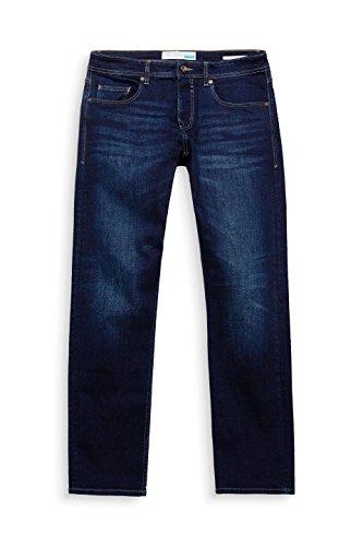 Hombre Azul Blue Wash Straight 901 para Dark Esprit Vaqueros qwFItt