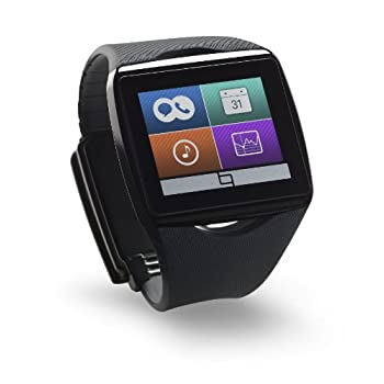 Image of Arm & Wristbands Qualcomm Toq - Smartwatch for Android Smartphone - Black