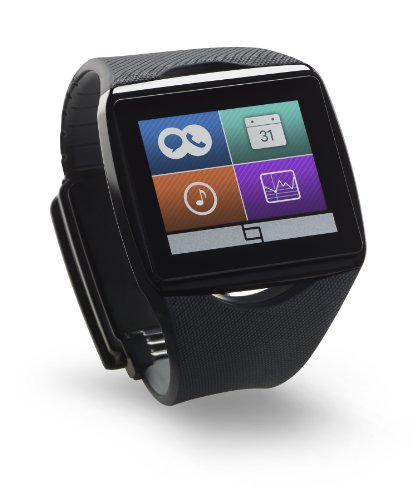 Qualcomm Toq - Smartwatch for Android Smartphone - Black