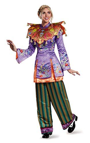 [Disney Women's Alice Asian Look Prestige Costume, Multi, Large] (Halloween Costumes Asian)