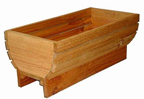 Amazon.com: Planter Box (Arched Deck Rail Planters): Handmade