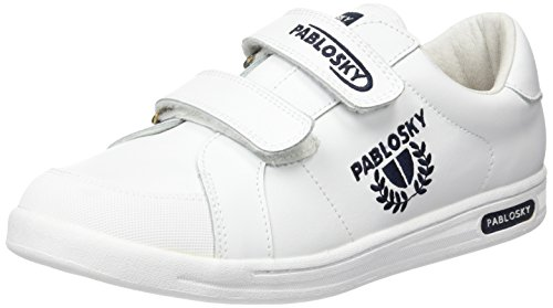 Pablosky Unisex-Kinder 900002 Sneakers Blanco