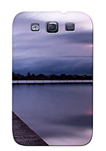 GuEnZFK7751PwlHV Case Cover Protector Series For Galaxy S3 Narrow Pier Case For Lovers