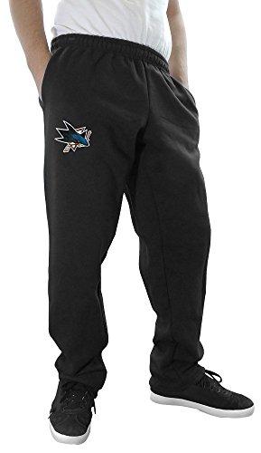 NHL Men's Official Team Sweatpants (XX-Large, San Jose Sharks)