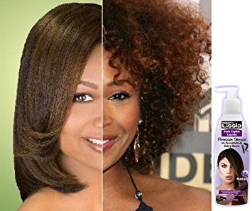 LISSIA-Seda capilar liquida Alizador para el cabello. Usar con plancha, termoprotector. 190ml/6oz * Straight Cream