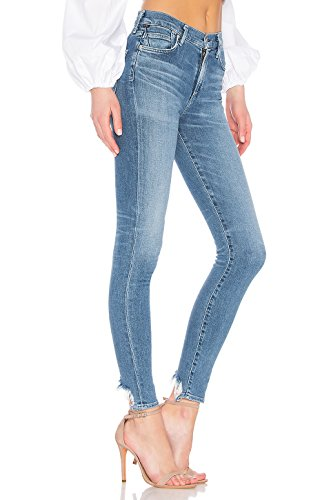 (Citizens of Humanity Rocket High-Rise Stretch Skinny Blue Jeans - Songbird - 30)