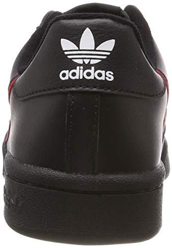 Fitness Unisex Bambini 000 Neronegbás escarl Continental maruni JScarpe Adidas Da 80 SVGqUMLzp