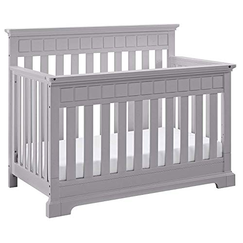 Convertible 1 Stages 4in Crib (Thomasville Kids Auburn 4-in-1 Convertible Crib - White, Fixed Side Crib, Solid Pine and Wood Product Construction, Converts to Toddler Bed Day Bed or Full Bed (Mattress Not Included))